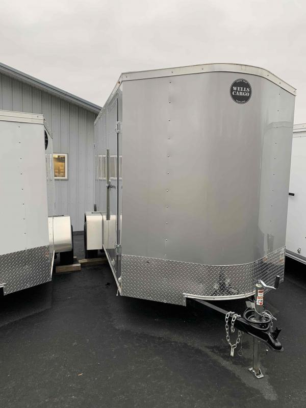 2020 Wells Cargo FT610DS2 Enclosed Cargo Trailer