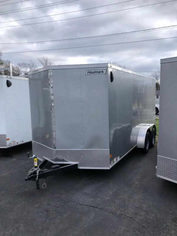 2021 Haulmark 714dbl Enclosed Cargo Trailer