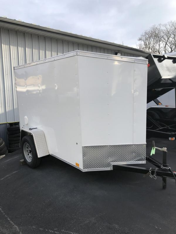 2021 Pace American 5x8ssd Enclosed Cargo Trailer