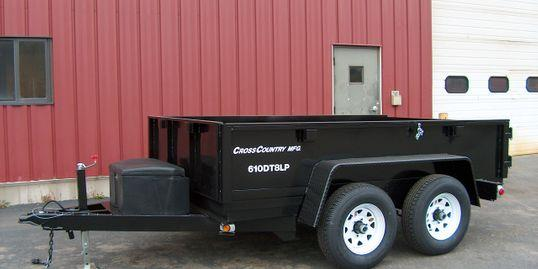 2020 Cross Country Manufacturing 612DT8LP Dump Trailer
