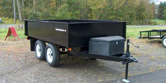 2020 Cross Country Manufacturing 610DTL Dump Trailer