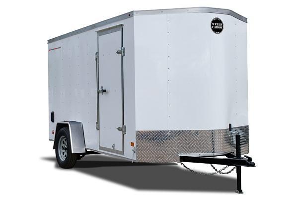 2022 Wells Cargo FT714T2 Enclosed Cargo Trailer