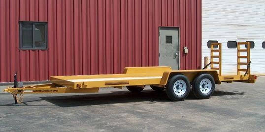 2020 Cross Country Manufacturing 4T16 Equipment Trailer