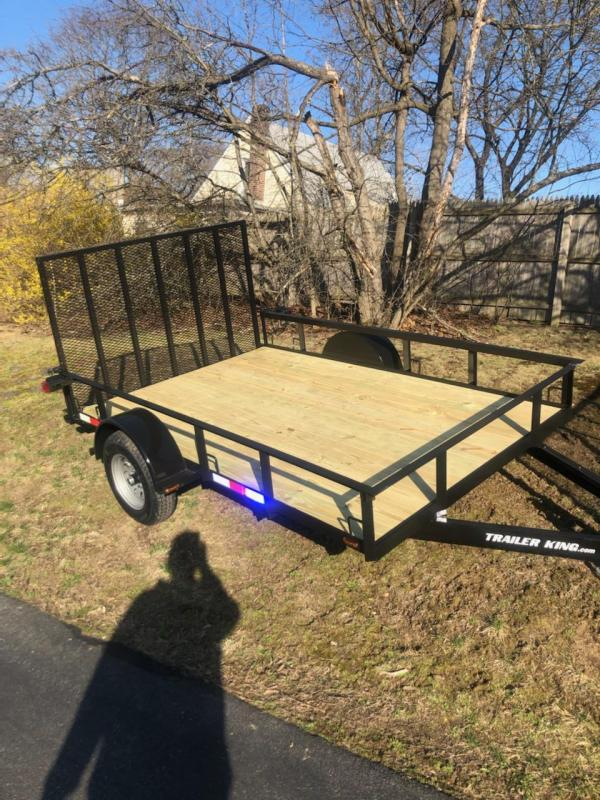 2021 Cross Country Manufacturing 61035tk Utility Trailer