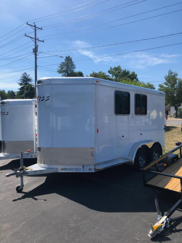 2019 Exiss Trailers 720BP HORSE Trailer