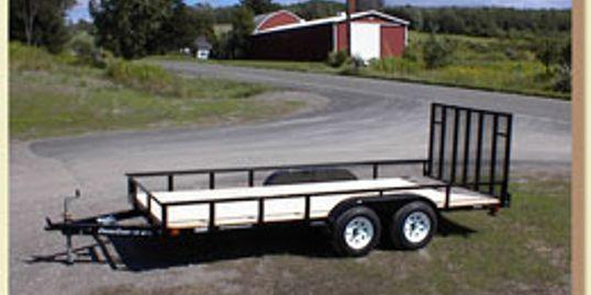 2022 Cross Country Manufacturing 6X16 Utility Trailer