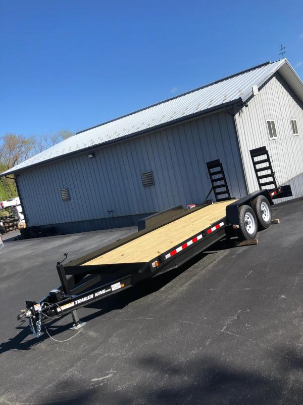 2021 Cross Country Manufacturing 5HD18 Equipment Trailer