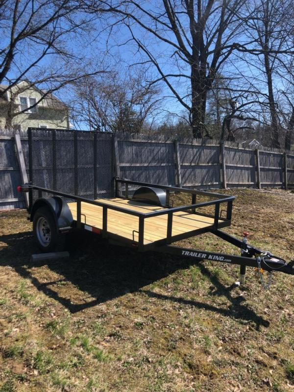 2021 Cross Country Manufacturing CC5835TK Utility Trailer