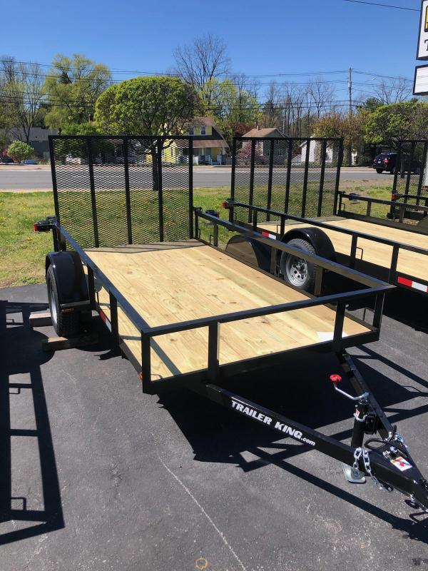 2021 Cross Country Manufacturing 51035tk Utility Trailer