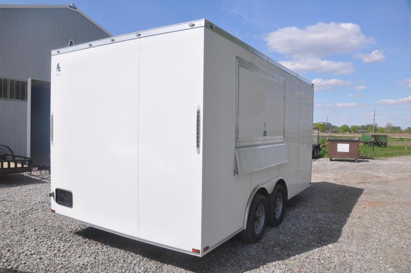 2020 Spartan 8.5X16TA Vending / Concession Trailer