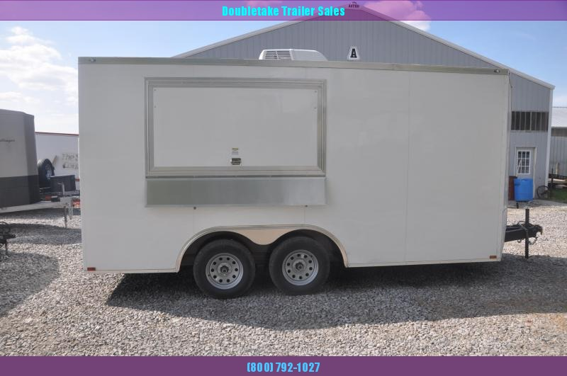 2021 Spartan 8.5X16TA Vending / Concession Trailer