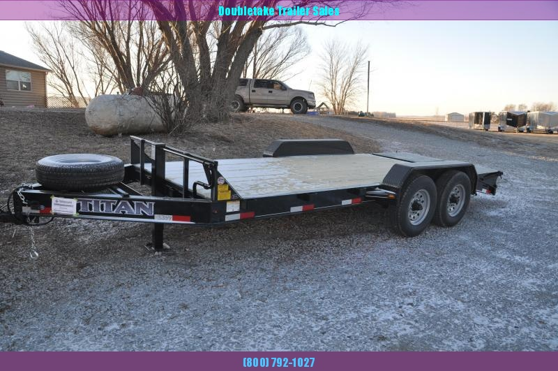 2021 Titan Trailers 14KLG Open Equipment Trailer
