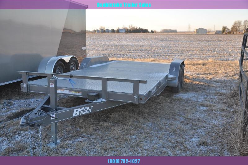 2020 Bulldog 7X18CH Open Car / Racing Trailer