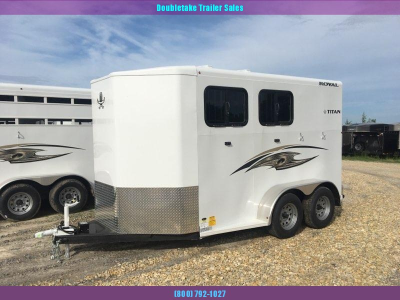 2020 Titan Trailers ROYAL II Horse Trailer
