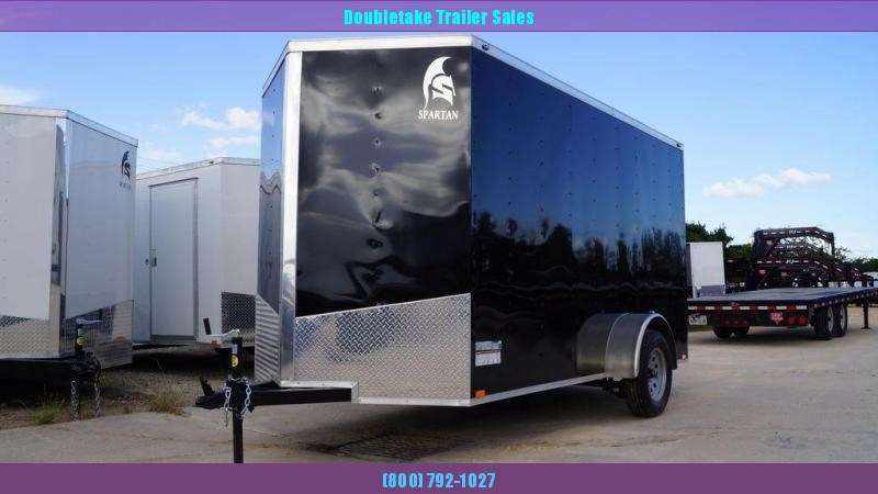 2021 Spartan 6X12SA Enclosed Cargo Trailer
