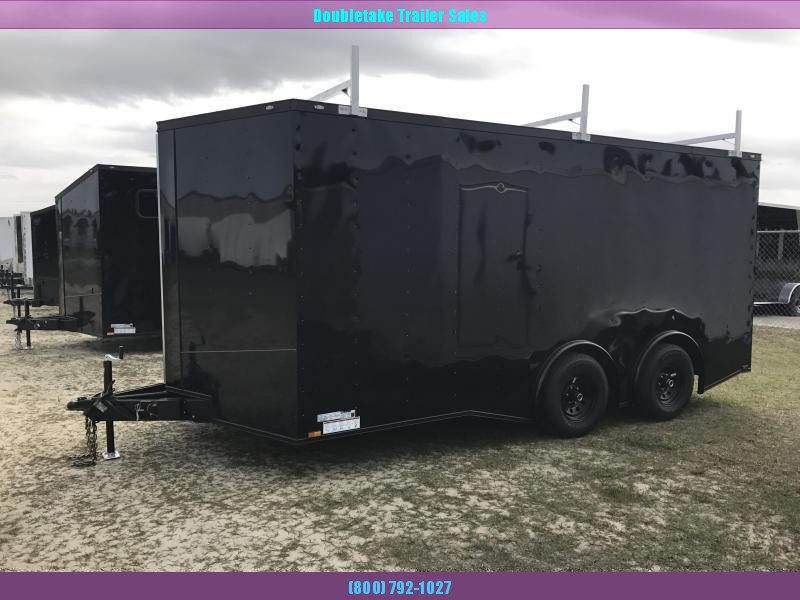 2021 Covered Wagon 8.5X16TA Enclosed Cargo Trailer