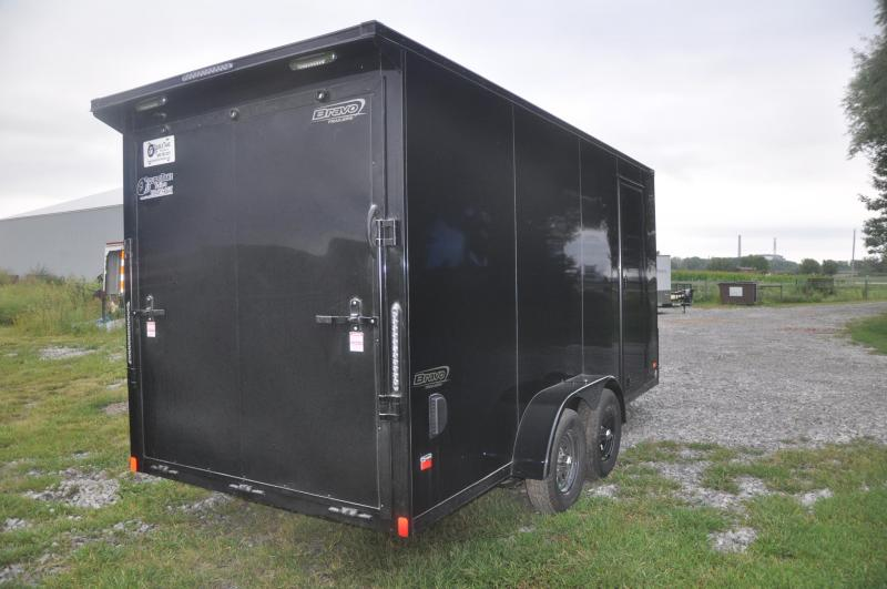 2020 Bravo Trailers SC716TA2 Motorcycle Trailer