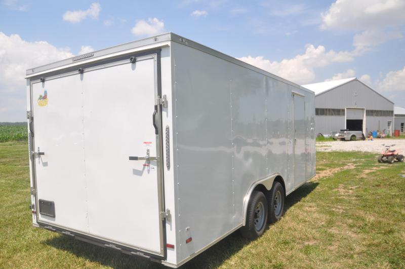 2020 Covered Wagon Trailers 8.5X20TA3 Car / Racing Trailer