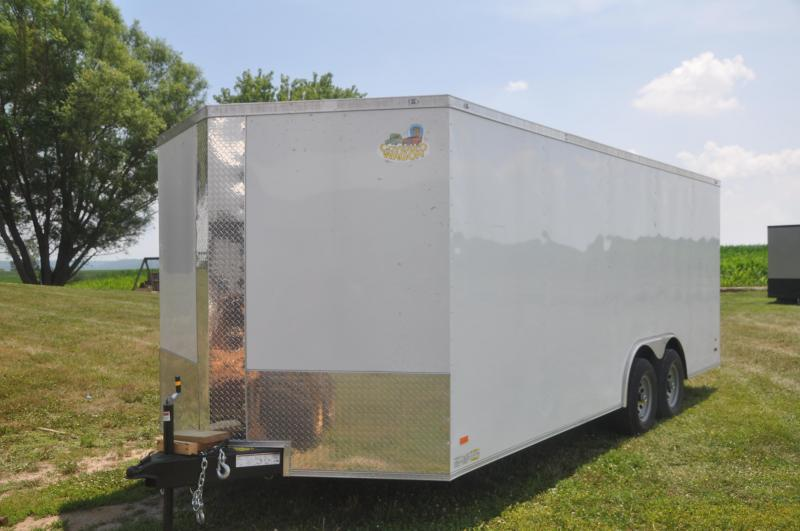 2020 Covered Wagon Trailers 8.5X20TA3 Car / Racing Trailer