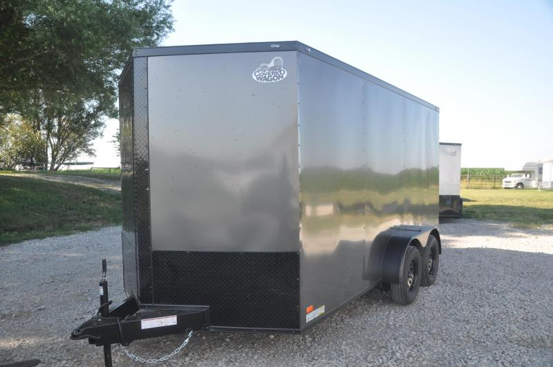 2020 Covered Wagon Trailers 7X16TA Enclosed Cargo Trailer