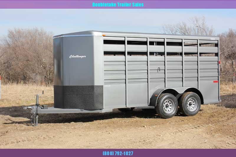 2021 Titan Trailers TC16S Livestock Trailer
