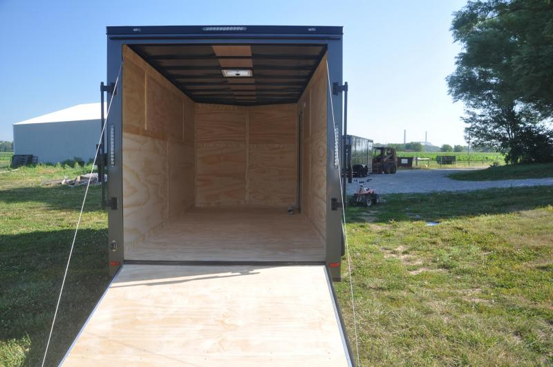 2020 Covered Wagon Trailers 7X16TA2 Motorcycle Trailer