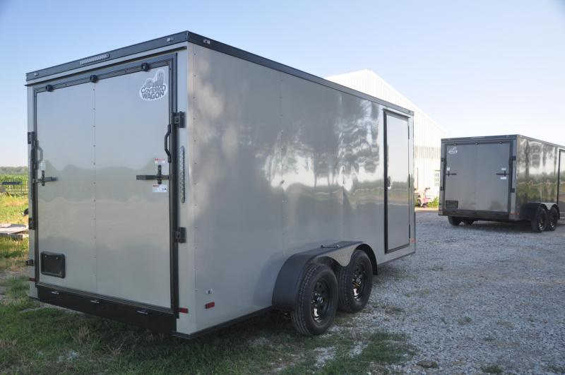 2020 Covered Wagon Trailers 7X16TA2 Enclosed Cargo Trailer