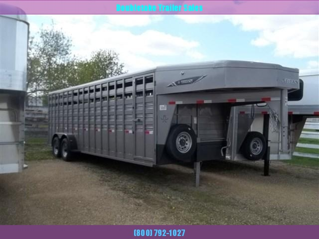 2021 Titan Trailers Titan Standard Livestock Livestock Trailer