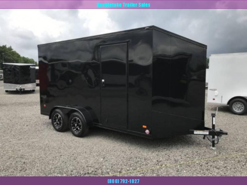2021 Bravo Trailers SC7X14TA Motorcycle Trailer