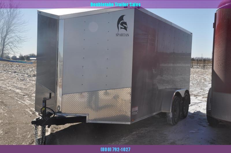 2020 Spartan 7X14TA Enclosed Cargo Trailer