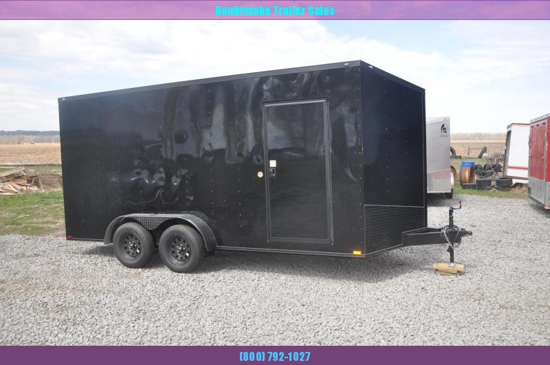 2020 Spartan 7X16TA Motorcycle Trailer