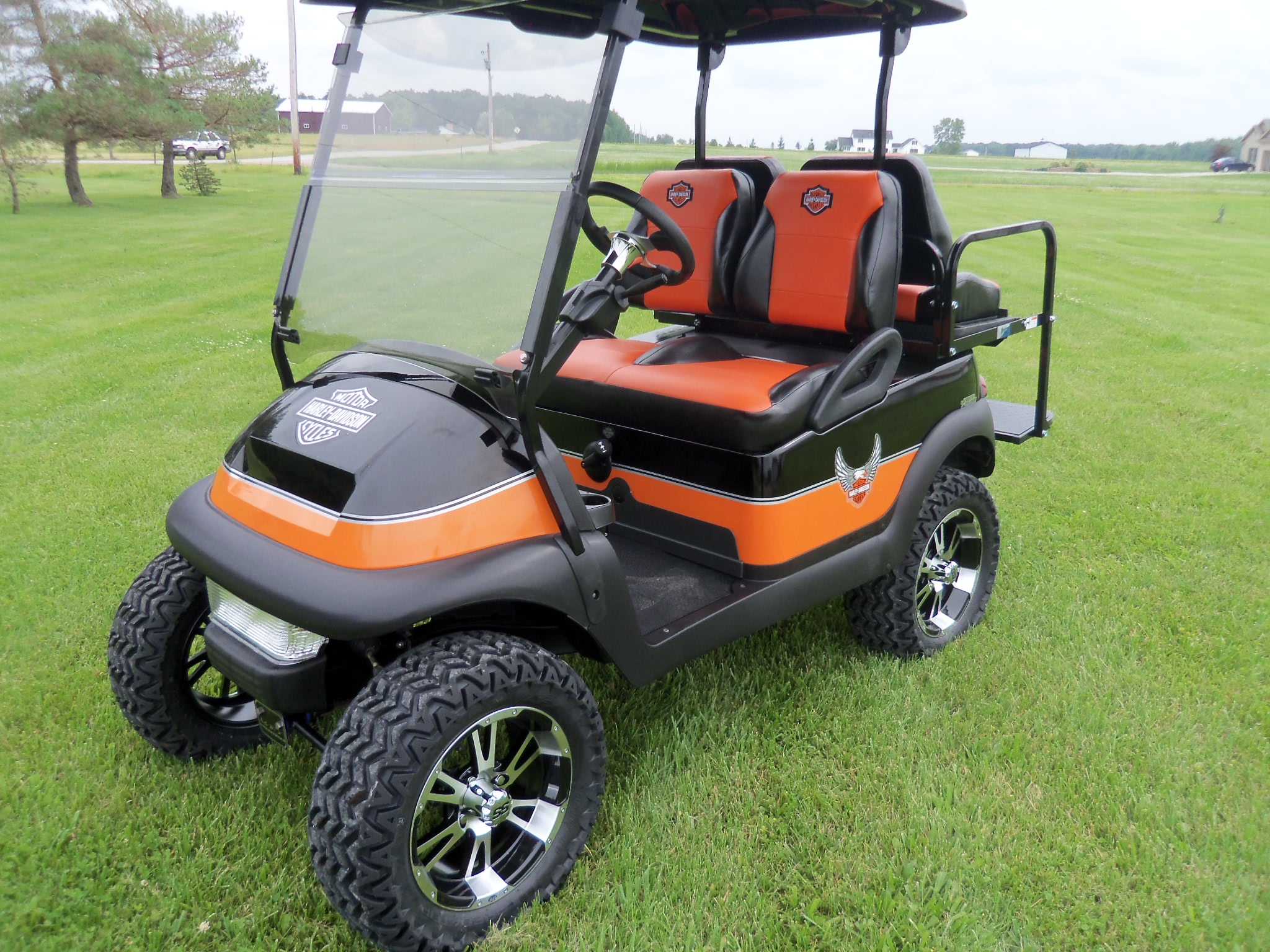 Picture of: Home Defiance Oh Golf Carts And Mowers In Oh Aftershock Carts And Mowers