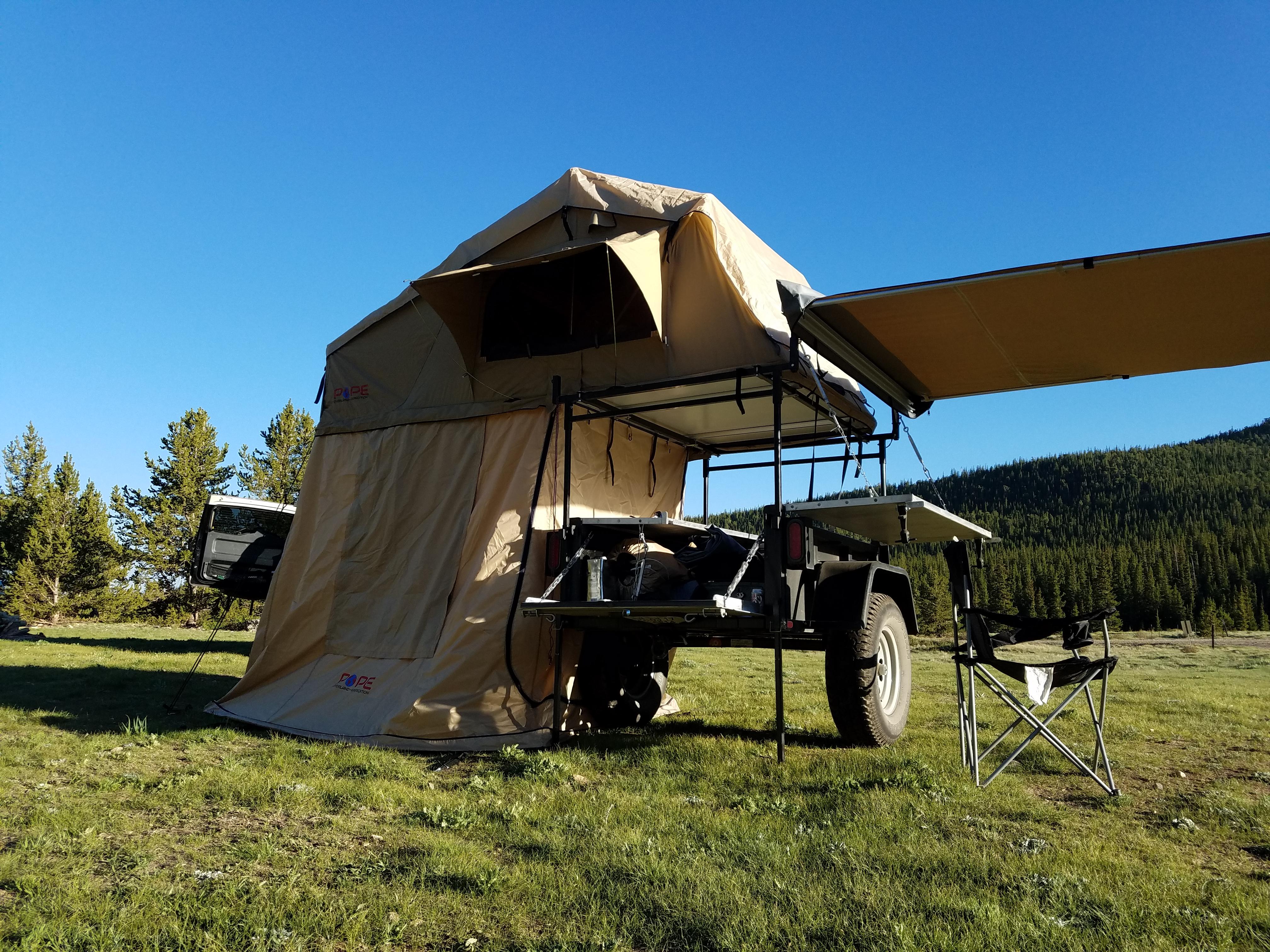 Morris Mule w/Tent