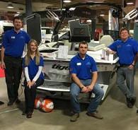 Team in AMC Marine Sales & Service