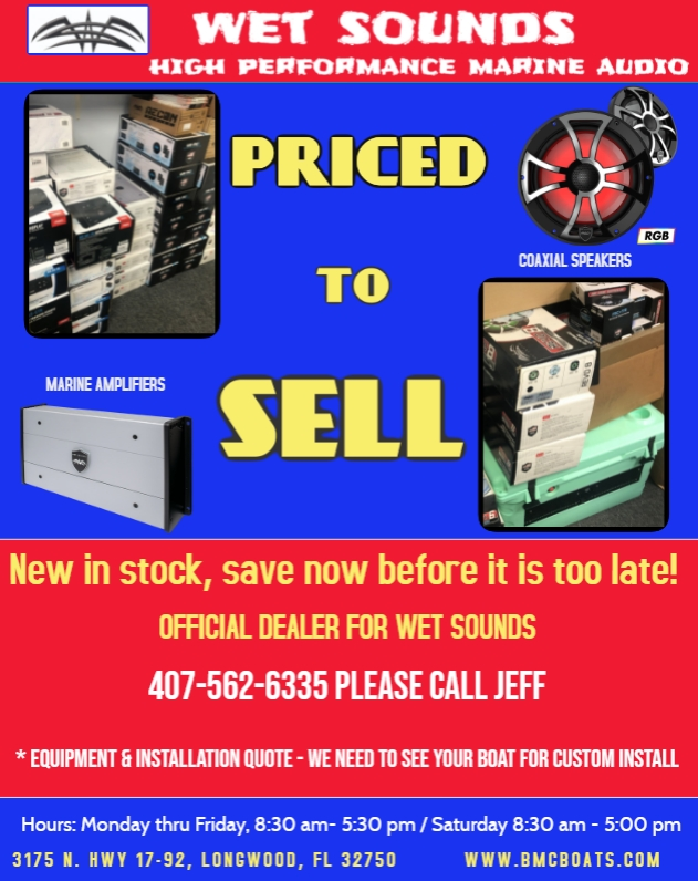 Wetsounds Stereo systems on Sale