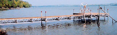 Brown's Marina 1641 Chaffeys Lock Rd Aluminum Bridge