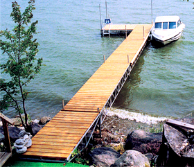 Brown's Marina 1641 Chaffeys Lock Rd Aluminum Boat in Bridge