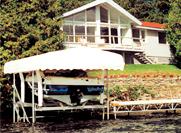 Brown's Marina 1641 Chaffeys Lock Rd Roof Boat