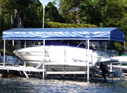 Brown's Marina 1641 Chaffeys Lock Rd Roof Boat 2