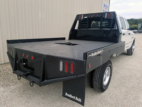 Flatbed at CSH Trailers in Westphalia, Missouri