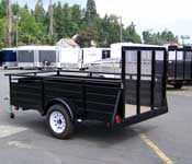 Eagle Sided Utility Series Trailers