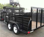 Eagle Tandem Axle Landscape Trailers