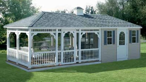 Pool Cabana | Outdoor furniture and sheds in Farmingdale ...