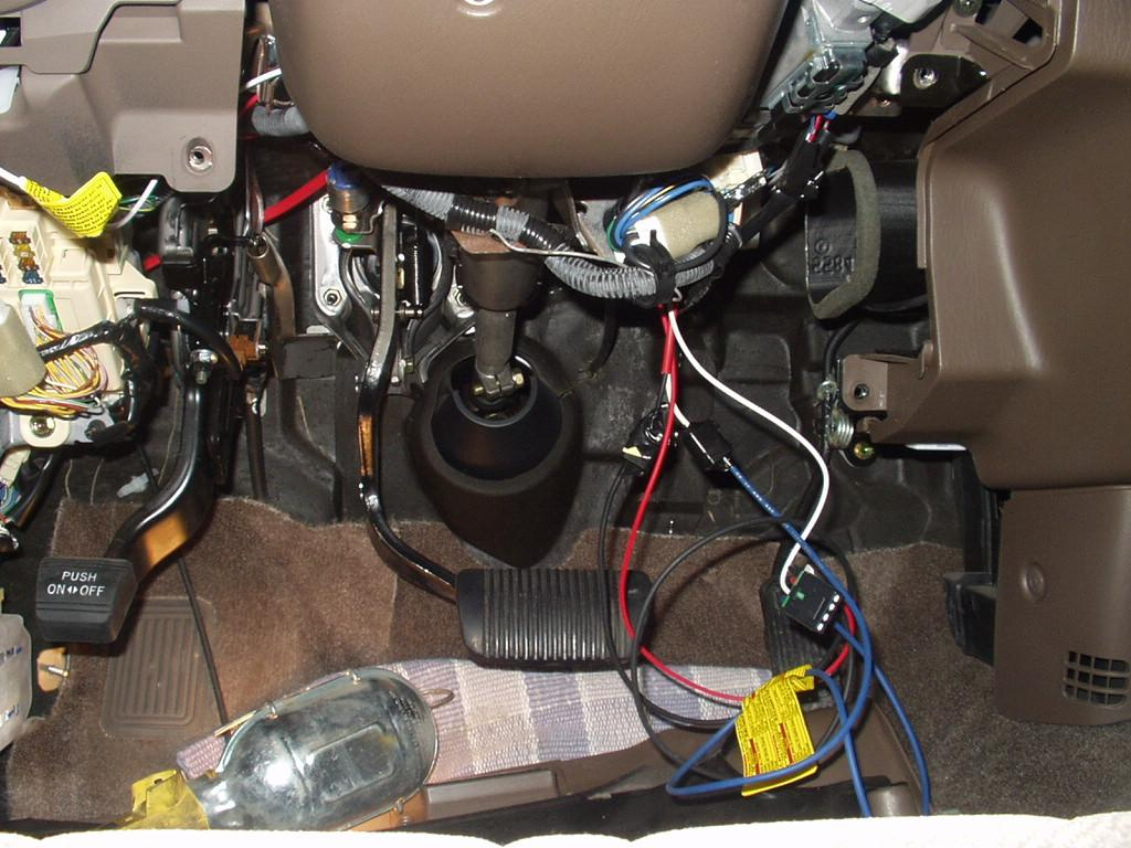 2002 Toyota Tundra (without Tow Package) Brake Controller Installation | R  and P Carriages | Cargo, Utility, Dump, equipment, Car Haulers, and  Enclosed Trailers in Chicago, Ottawa, Dekalb, and Joliet, ILR and P Carriages