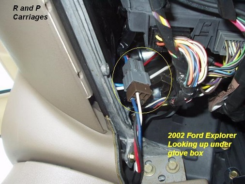 ford explorer steering wheel wiring harness diagram 2002 ford explorer with tow package r and p carriages cargo  2002 ford explorer with tow package r