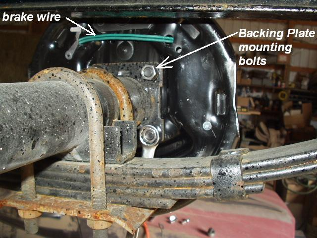 Installing Electric Brakes On Your, Trailer Electric Brake Wiring