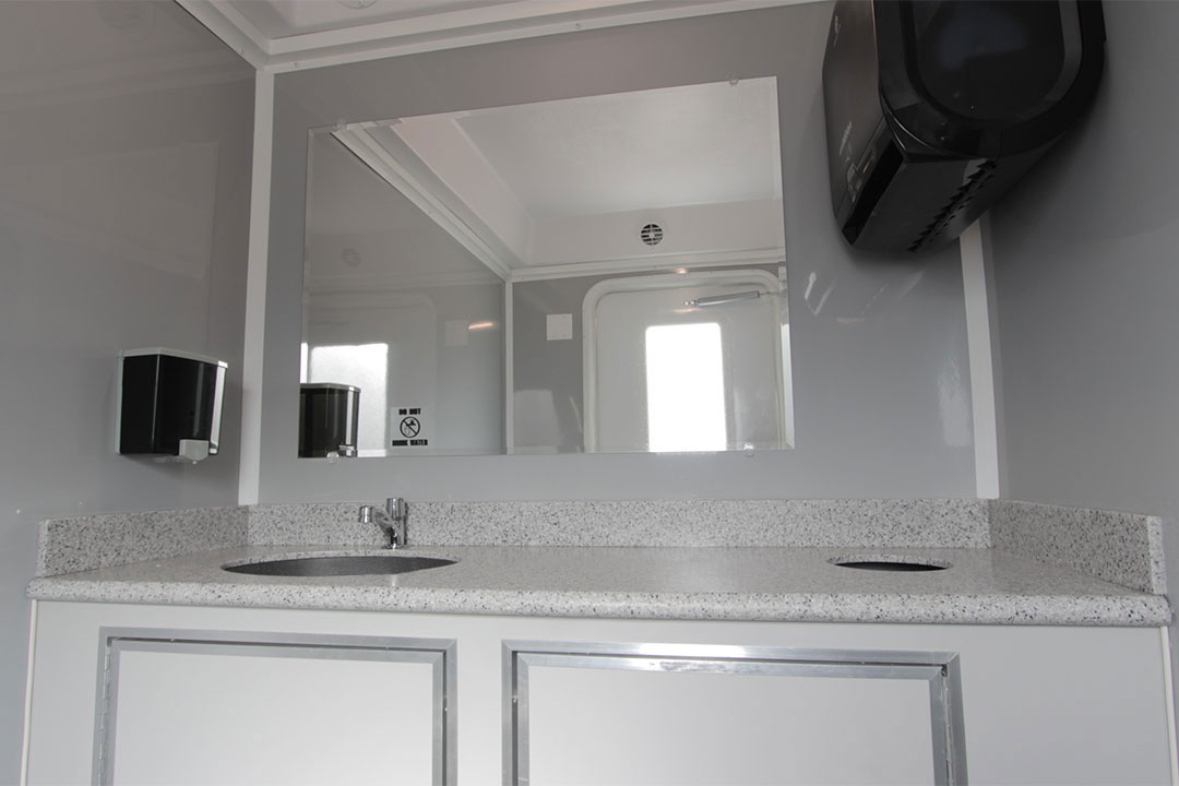 restroom trailer sterling interior upgrade option