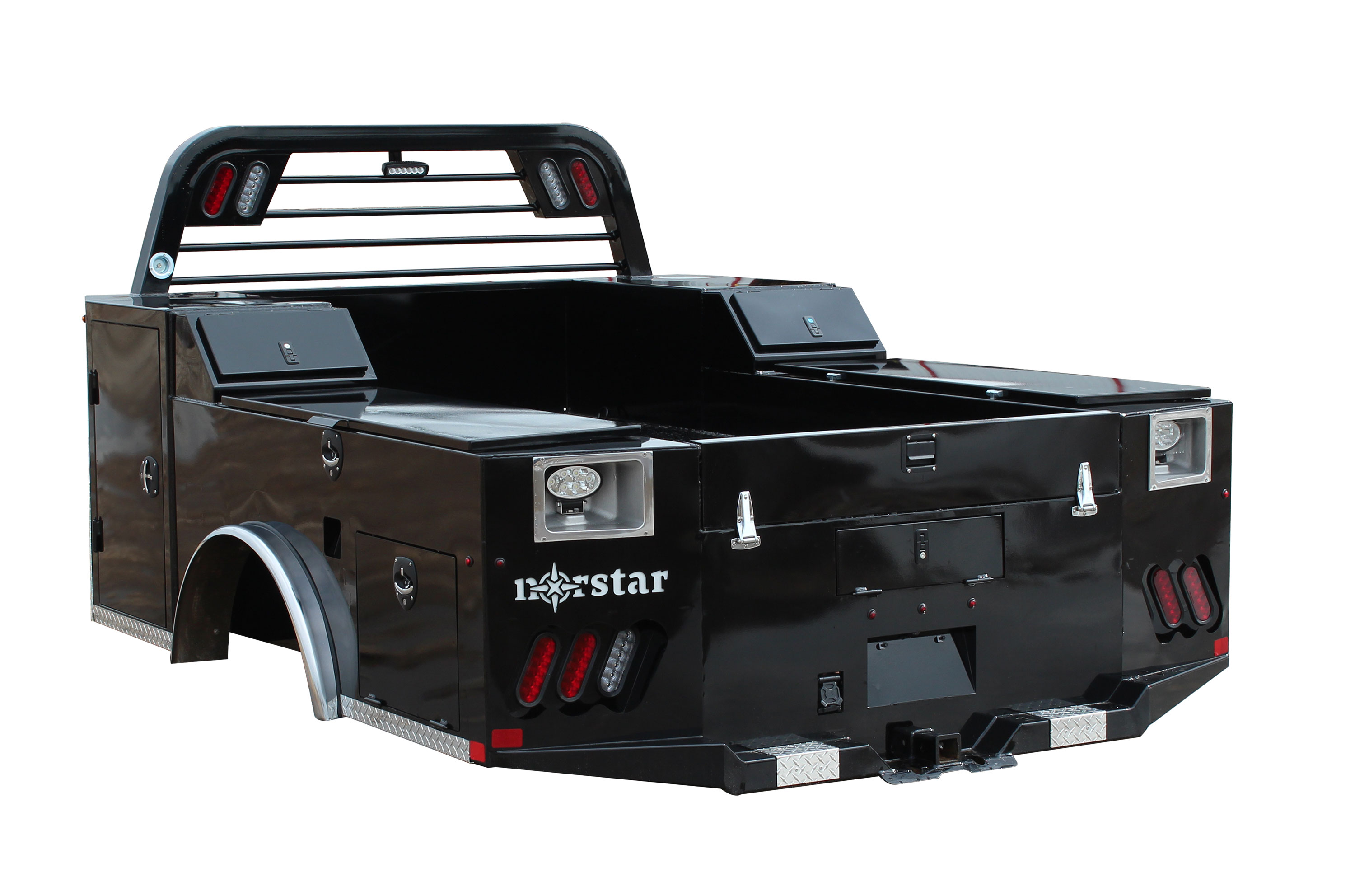 Sd Norstar Service Bed Trailers In El Paso Tx Red Barn Trailers Trailer Dealer In El Paso For Enclosed Cargo Utility Flatbed And Equipment Trailers