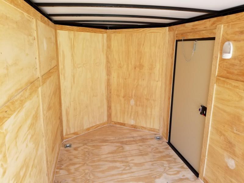 Inside of Cargo Trailer
