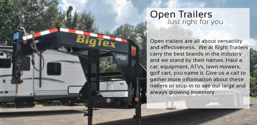 Open Trailers